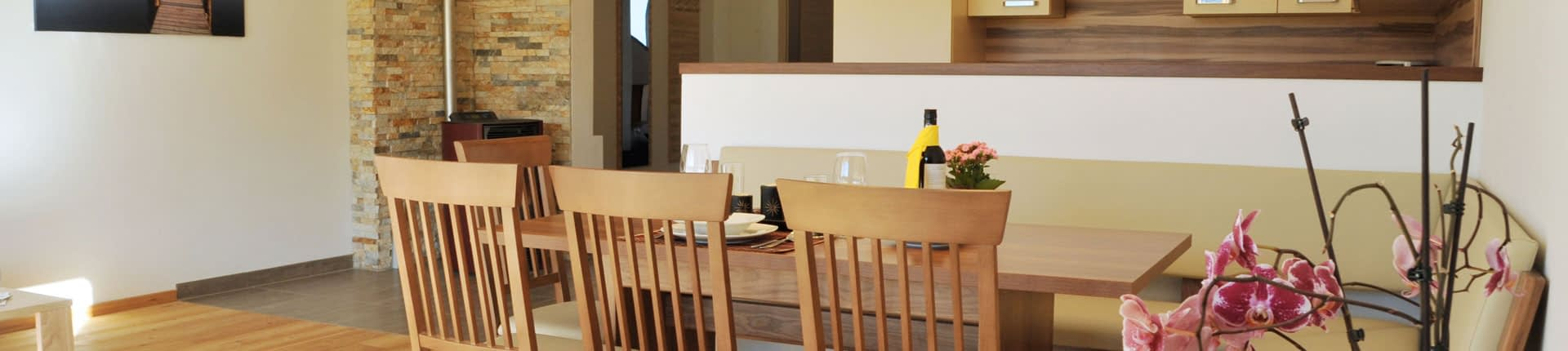 Wohnküche Ferienwohnung Fosensteiner in Ramsau am Dachstein